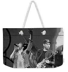 Coldplay 14 Weekender Tote Bag by Rafa Rivas