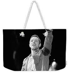Coldplay 16 Weekender Tote Bag by Rafa Rivas