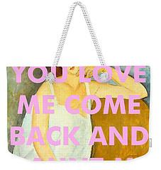Coldplay Art Print                            Weekender Tote Bag