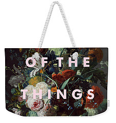 Coldplay Clocks Art Print Weekender Tote Bag