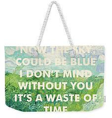 Coldplay Lyrics Art Print Weekender Tote Bag