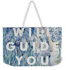 Coldplay Lyrics Print Weekender Tote Bag