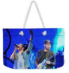 Coldplay6 Weekender Tote Bag by Rafa Rivas