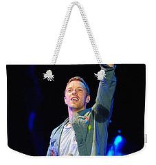 Coldplay8 Weekender Tote Bag by Rafa Rivas