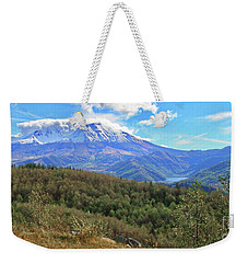 Coldwater Lake At Mt. St. Helens Panorama Weekender Tote Bag