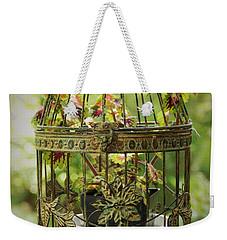 Coleus In Vintage Birdcage Weekender Tote Bag