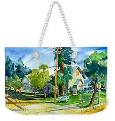 Colfax Methodist Church Weekender Tote Bag