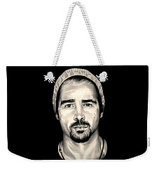 Colin Farrell  Total Recall Weekender Tote Bag by Fred Larucci