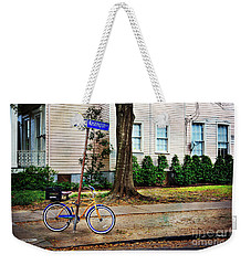 Weekender Tote Bag featuring the photograph Coliseum-washington Bicycle by Craig J Satterlee
