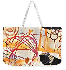 Collage Details Weekender Tote Bag