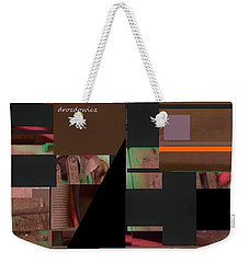 Collage1 Weekender Tote Bag by Andrew Drozdowicz