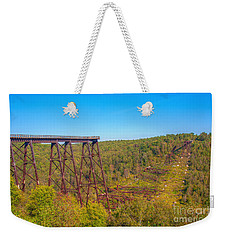 Collapsed Kinzua Railroad Bridge Weekender Tote Bag