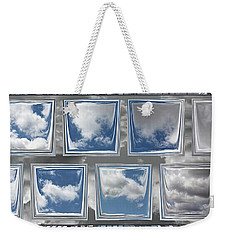 Weekender Tote Bag featuring the digital art Collected Spring Mornings by Wendy J St Christopher