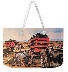 Collecting Turf  Weekender Tote Bag