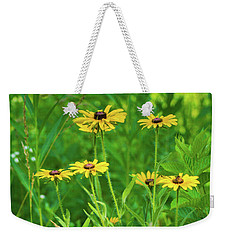 Weekender Tote Bag featuring the photograph Collection In The Clearing by Bill Pevlor