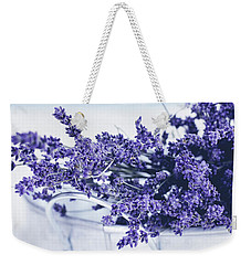 Collection Of Lavender  Weekender Tote Bag by Stephanie Frey