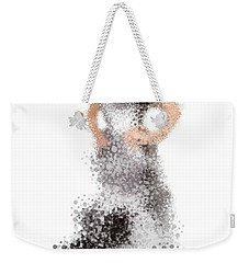 Weekender Tote Bag featuring the digital art Collette by Nancy Levan