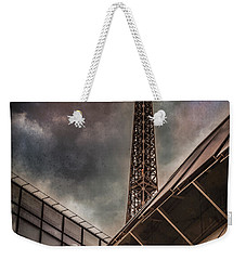 Paris, France - Colliding Grids Weekender Tote Bag
