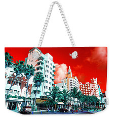 Collins Avenue Pop Art South Beach Weekender Tote Bag