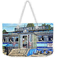 Collin's Diner New Canaan,conn Weekender Tote Bag by MaryLee Parker