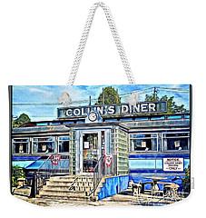 Collin's Diner New Canaan,conn Weekender Tote Bag