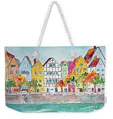 Cologne Along The Rhine Weekender Tote Bag