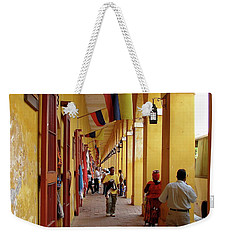 Colombia Walkway Weekender Tote Bag
