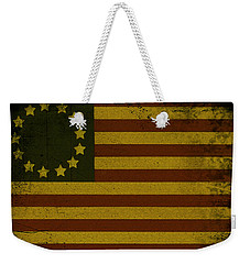 Colonial Flag Weekender Tote Bag by Bill Cannon