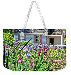 Colonial Garden1 Weekender Tote Bag
