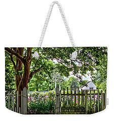 Colonial Gardens 3 Weekender Tote Bag