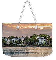 Colonial Lake Charleston Sc Weekender Tote Bag
