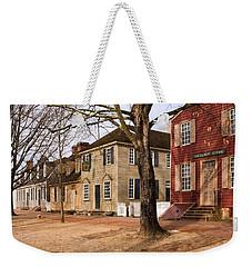 Colonial Street Scene Weekender Tote Bag