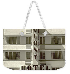 Colony Hotel South Beach Weekender Tote Bag