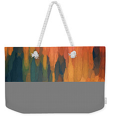 Color Abstraction L Sq Weekender Tote Bag