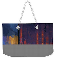 Color Abstraction Lii Weekender Tote Bag