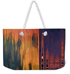 Color Abstraction Liv Weekender Tote Bag