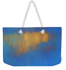 Weekender Tote Bag featuring the digital art Color Abstraction Lvi by David Gordon
