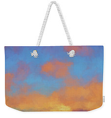 Color Abstraction Lvii Weekender Tote Bag