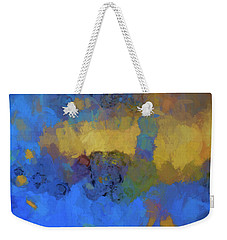 Weekender Tote Bag featuring the digital art Color Abstraction Lviii by David Gordon