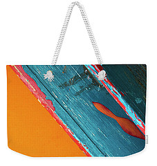 Weekender Tote Bag featuring the photograph Color Abstraction Lxii Sq by David Gordon