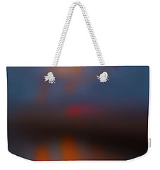 Weekender Tote Bag featuring the photograph Color Abstraction Lxiii Sq by David Gordon