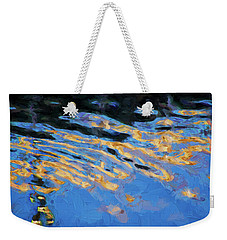 Weekender Tote Bag featuring the photograph Color Abstraction Lxiv by David Gordon