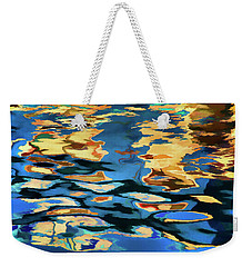 Color Abstraction Lxix Weekender Tote Bag