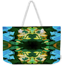Weekender Tote Bag featuring the photograph Color Abstraction Lxv by David Gordon