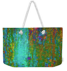 Weekender Tote Bag featuring the photograph Color Abstraction Lxvii by David Gordon