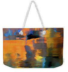 Weekender Tote Bag featuring the photograph Color Abstraction Lxxii by David Gordon
