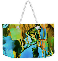 Weekender Tote Bag featuring the photograph Color Abstraction Lxxiii by David Gordon