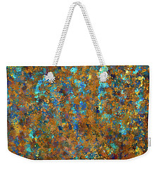 Color Abstraction Lxxiv Weekender Tote Bag