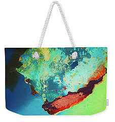 Color Abstraction Lxxvi Weekender Tote Bag