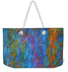 Color Abstraction Xiv Weekender Tote Bag